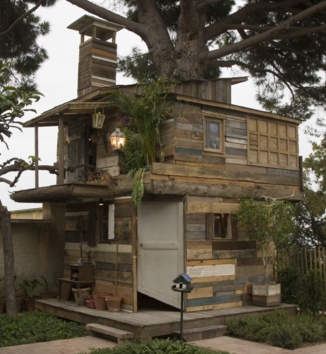 Tree Houses France Tree)house of Hyères Wood